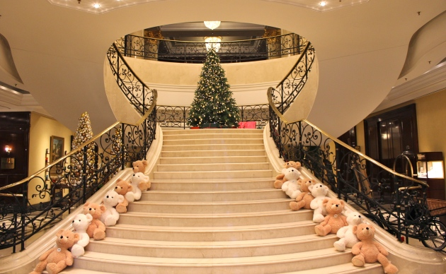 Teddy Bears at the Ritz
