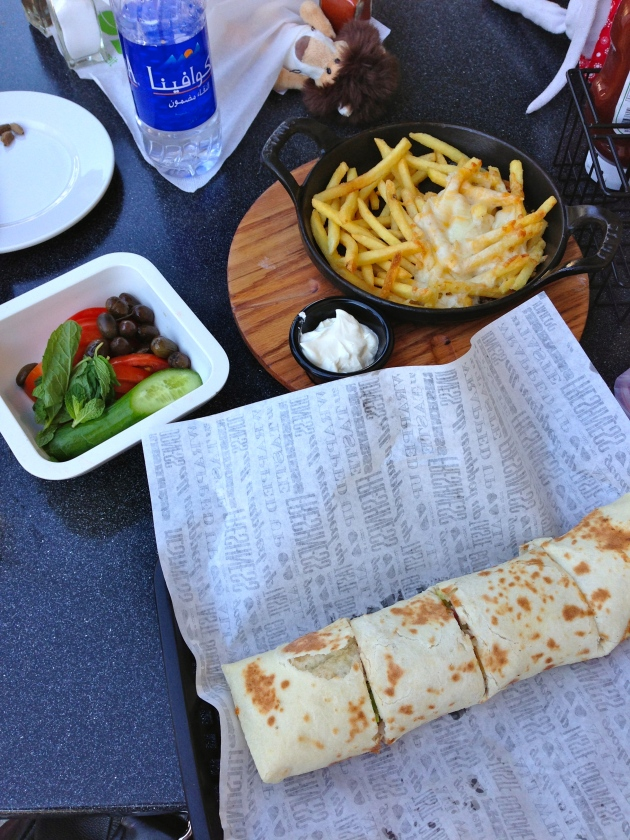 Lunch at Zaatar with Zeit