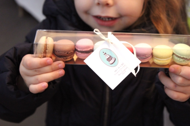 Mini macarons from Arte Sucre