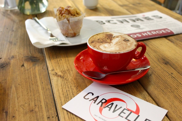 Coffee at Caravelle